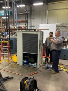 BRAC installing chiller 225x300 - Chiller Installation and Service
